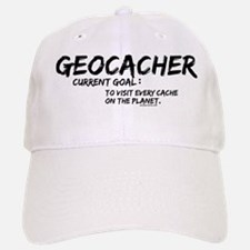 Geocacher Goals Baseball Baseball Cap