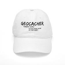Geocacher Goals Baseball Cap
