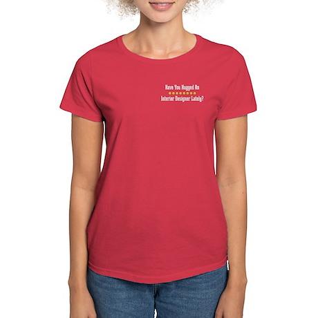 Hugged Interior Designer Women's Dark T-Shirt