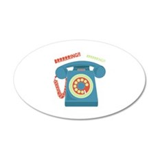 Ring Ring Wall Decal