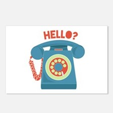 Hello? Postcards (Package of 8)