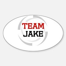 Jake Oval Decal