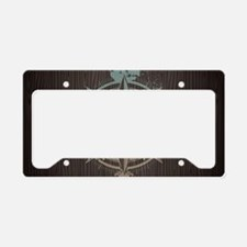 Nautical Compass License Plate Holder