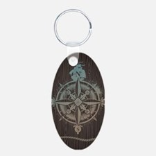 Nautical Compass Keychains