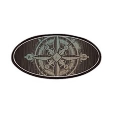 Nautical Compass Patches