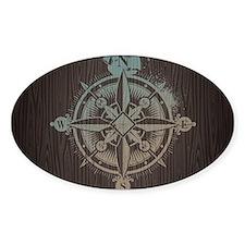 Nautical Compass Decal