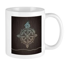 Nautical Compass Mugs
