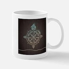 Nautical Compass Mugs