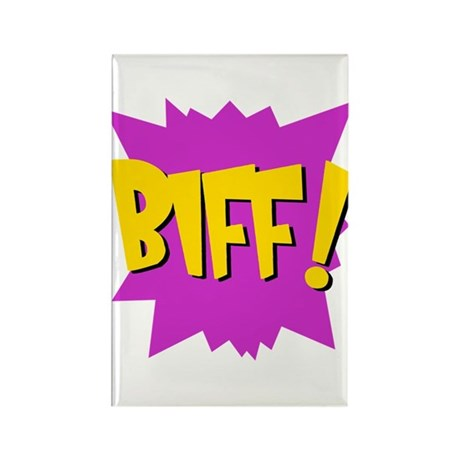 Biff! Rectangle Magnet