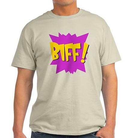 Biff! Ash Grey T-Shirt