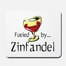 Fueled by Zinfandel Mousepad