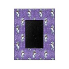 Unicorn Purple Glitter Picture Frame