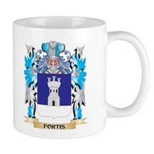 Fortis Coat of Arms - Family Crest Mugs