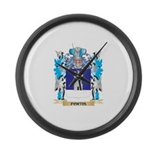 Cute Fortis Large Wall Clock
