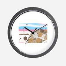 Cute Absence Wall Clock