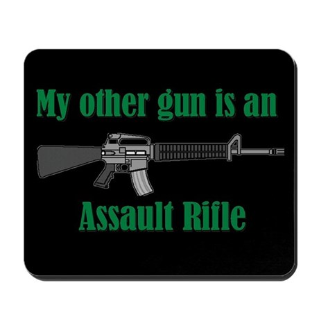 Mousepad-My Other Gun