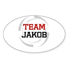 Jakob Oval Decal
