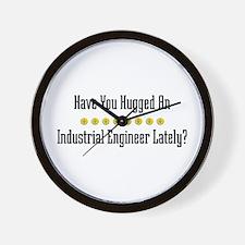 Hugged Industrial Engineer Wall Clock