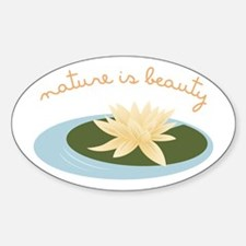 Nature Is Beauty Decal