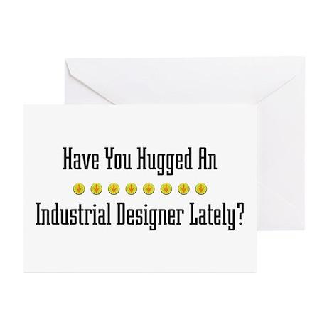 Hugged Industrial Designer Greeting Cards (Package