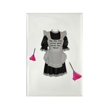 sissy maid Rectangle Magnet