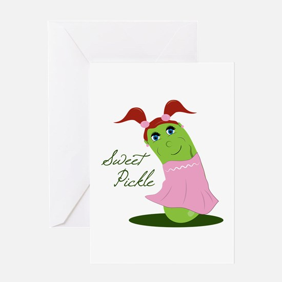 Sweet Pickle Greeting Cards