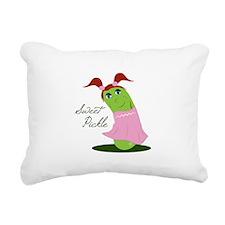 Sweet Pickle Rectangular Canvas Pillow
