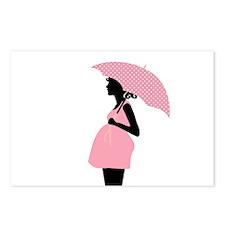 Unique Trendy pregnancy Postcards (Package of 8)