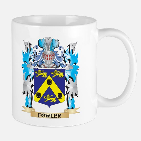 Fowler Coat of Arms - Family Crest Mugs