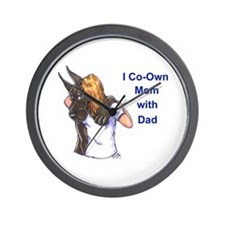 CBlu Coown Mom Wall Clock