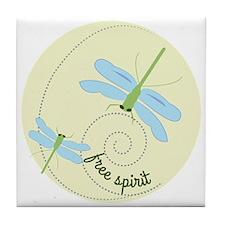 Free Spirit Tile Coaster