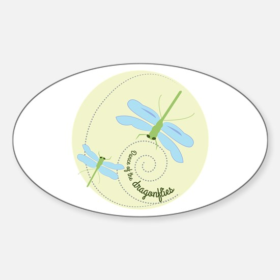 Dance of the dragonflies Decal
