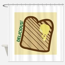 Delicious Toast Shower Curtain