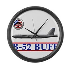 Air force b52 Large Wall Clock