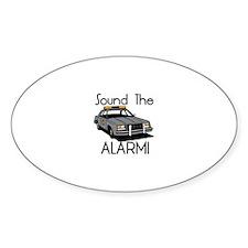 Sound the Alarm Decal