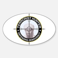 Terrorist Oval Decal