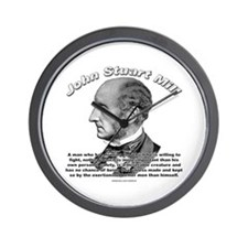 John Stuart Mill 02 Wall Clock