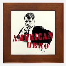 RFK American Hero Framed Tile