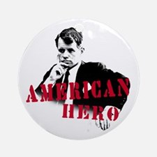 RFK American Hero Ornament (Round)
