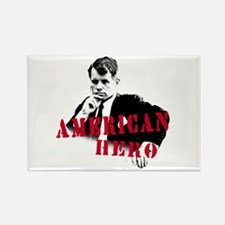 RFK American Hero Rectangle Magnet