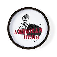 RFK American Hero Wall Clock