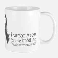 I wear grey for my brother Mugs