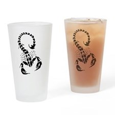 Funny Scorpion Drinking Glass