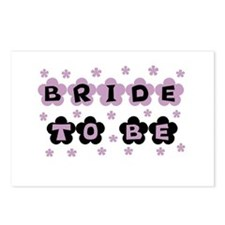 Lilac Bride to Be Postcards (Package of 8)