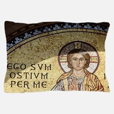 Byzantine Art. Croatia. Euphrasian Bas Pillow Case