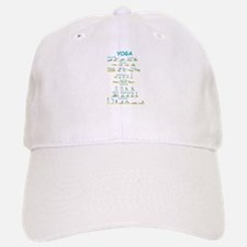 Yoga Poses Baseball Baseball Cap