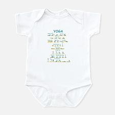 Yoga Poses Infant Bodysuit
