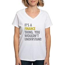 Its A Finance Thing Shirt