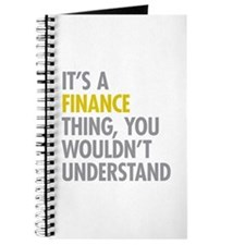 Its A Finance Thing Journal