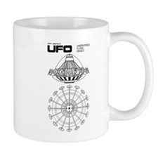 Ufo - S.h.a.d.o. Ufo Blueprint Mugs